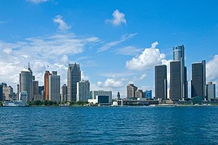 Flug Nach Detroit